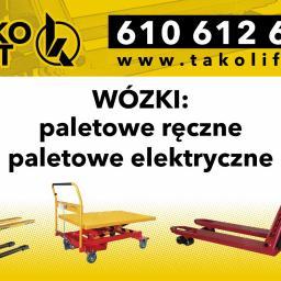 TAKO-LIFT - Dostawcy maszyn i urządzeń Lublin