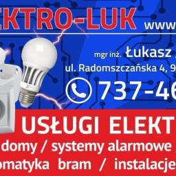 Elektro-Luk Łukasz Jaskórzyński - Elektryk Dobryszyce