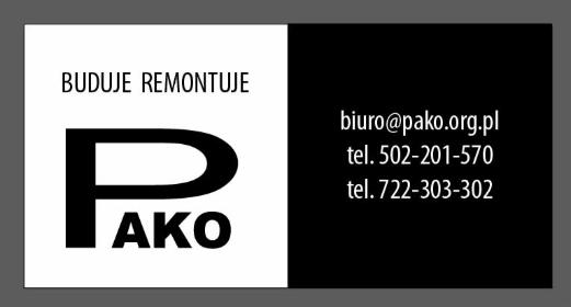PAKO sp. z o.o. - Budowanie Łódź