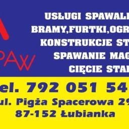 ALL-SPAW - Bramy wjazdowe Pigża
