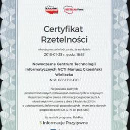 Nowoczesne Centrum Technologii Informatycznych NCTI - Firma IT Wieliczka