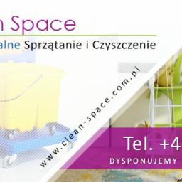 CLEAN SPACE Usługi Sprzątająco - Czyszczące Renata Smolak - Pranie Tapicerki Meblowej Białogard
