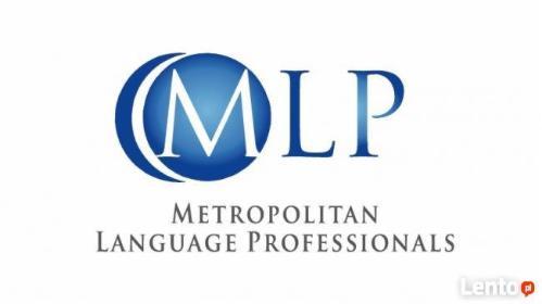 """""""Metropolitan Language Professionals"""" - Tłumaczenia dokumentów Opole"""