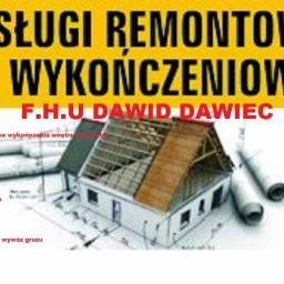 Dawid Dawiec - Gładzie Gipsowe Chełmża