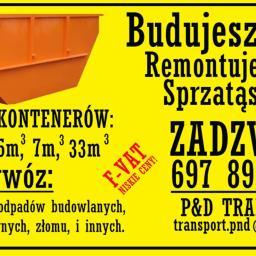 P&D TRANSPORT - Zaplecze budowlane Zacharzyn