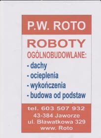 P.W. ROTO Roboty Ogólnobudowlane - Elewacje i ocieplenia Jaworze