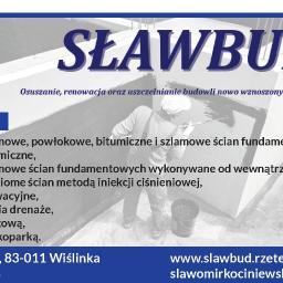 SŁAWBUD Sławomir Kociniewski - Osuszanie, odgrzybianie Wiślinka