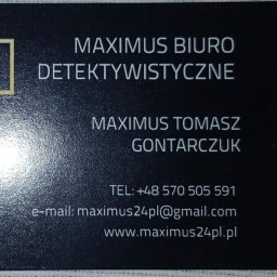 Maximus Tomasz Gontarczuk - Obsługa Prawna Gliwice