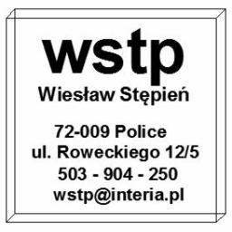 WSTP - Wykonanie Konstrukcji Stalowej Police