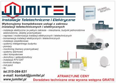 JuMiTel Instalacje Teletechniczne i Elektryczne - Monitoring Olsztyn