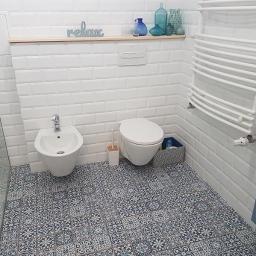 Remont łazienki Motycz 1