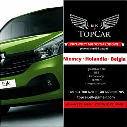 TopCar Bus - Przewóz osób Ełk