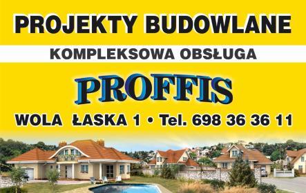 PROFFIS - Projekty budowlane - Firmy Łask