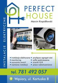 Instalacje elektryczne - Domofony Sulęczyno