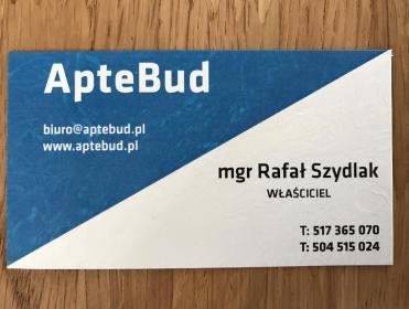 APTEBUD Rafał Szydlak - Hydraulik Poznań