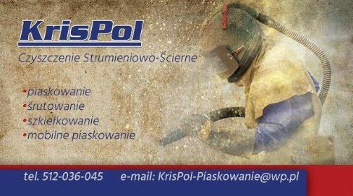 KrisPol - Piaskowanie Metali Gdańsk