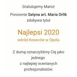 Satyna art. Maria Orlik - Szwalnia Opole 45-129