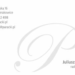 Juliusz Paracki Kancelaria Radcy Prawnego - Adwokat Sierakowice