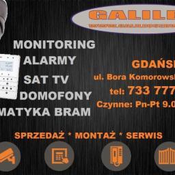 Galileo - Domofony, wideofony Gdańsk