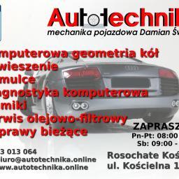 Autotechnika Mechanika Pojazdowa Damian Święcki - Przeglądy i diagnostyka pojazdów Rosochate kościelne