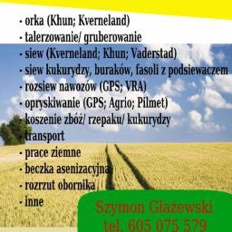 Szymon Głażewski Usługi Rolnicze - Warzywa Nowy Dwór Gdański