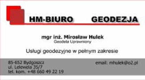 HM Biuro Hulek Mirosław - Geodeta Bydgoszcz