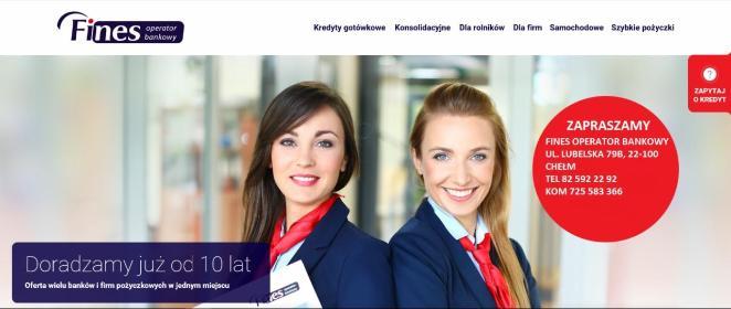 Fines Operator Bankowy Chełm - Kredyt gotówkowy Chełm