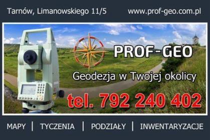 PROF-GEO DANIEL GRZYB - Ewidencja Gruntów Pawęzów