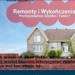 Kosman Remonty i Wykończenia - Malarz Wrocław