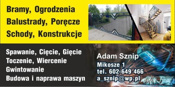 Adam Sznip - Spawacz Mikosze