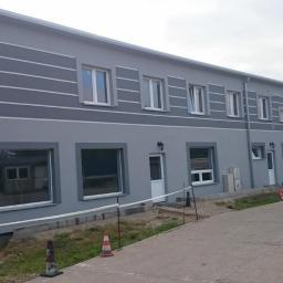 Wykonanie kompleksowej stolarki okiennej w budynku biurowym w Szczecinie