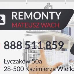 Remonty Kompleksowe Mateusz Wach - Płyta karton gips Kazimierza Wielka