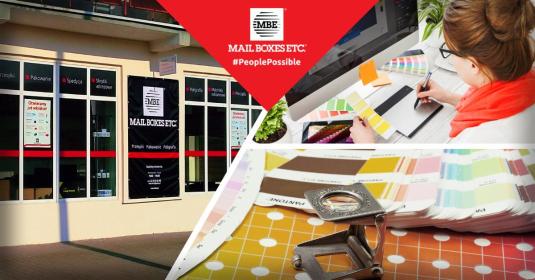 Mail Boxes Etc. Sosnowiec - Laminowanie Sosnowiec