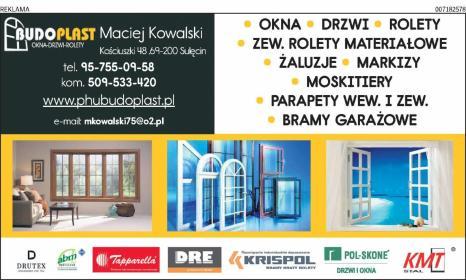 PHU BUDOPLAST - Okna drewniane Sulęcin