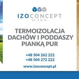 Izo Concept Sp. z o.o. - Ocieplanie Pianką PUR Łódź