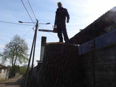 Zakład Usług Leśnych - Odśnieżanie dachów Płock