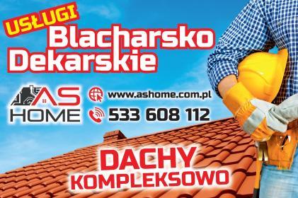 AS HOME Sebastian Golański - Konserwacje Dachów Zawadka