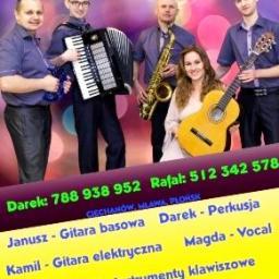 """Zespół muzyczny """"Max-music"""" - Zespół muzyczny Mława"""