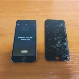 Wymiana dotyku w iPhone