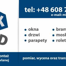 MK-BUD Michał Korzeniewski - Drzwi 05 300 Budy Barcząckie