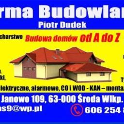 PIOTR DUDEK Firma Handlowo Usługowo Produkcyjna - Boazeria Środa Wielkopolska