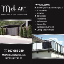 Met-Art - Ogrodzenia panelowe Jastrzębie-Zdrój