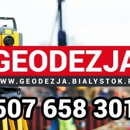 GEODEZJA Wojciech Piechowski - Geodeta Choroszcz