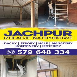 Jachpur - ocieplanie pianą pur - Ocieplanie poddaszy Żary