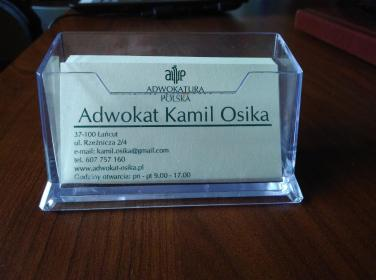 Kamil Osika Kancelaria Adwokacka - Adwokat Łańcut