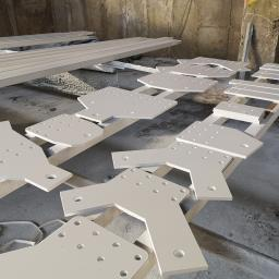 Konstrukcja stalowa dachu - Norwegia Tatramet