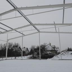 Konstrukcja hali magazynowej. Warszawa Tatramet