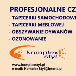 Komplex Styl Jan Bereś - Czyszczenie Tapicerki Krosno