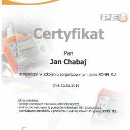 Chabaj Jan INVESTMENTS - Wymiana Instalacji Elektrycznej Bydgoszcz