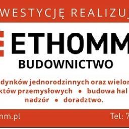 ETHOMM Sp. z o.o. - Murowanie ścian Żory